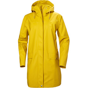 Helly Hansen W's Moss Rain Coat Essential Yellow